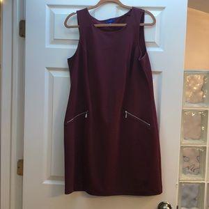 Maroon dress - super cute and like new